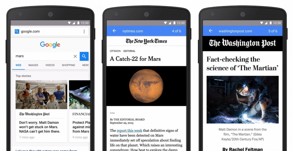 Google Accelerates Mobile Ads with AMP Launches