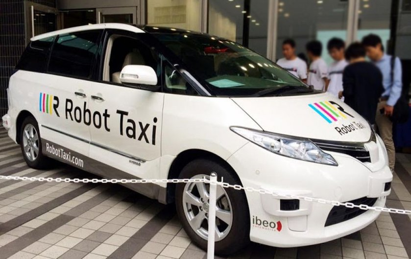 'Robot Taxis' Planned for Japanese Cities by 2020