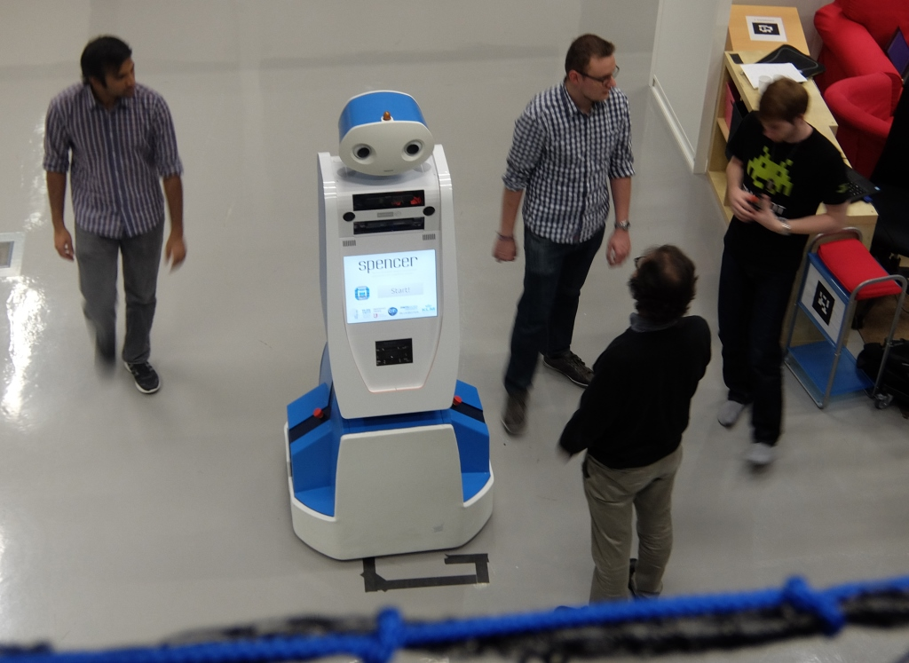 Innovation Lab: Airport Robots, Drones vs Sharks and Gentle Cybernetics