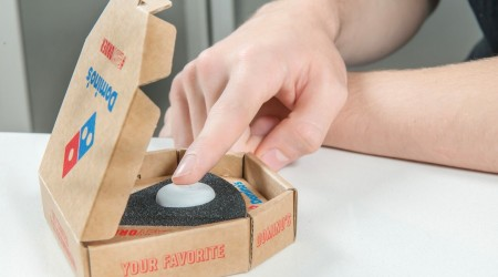 Domino's Dashes to Easy Order with Connected Button Launch
