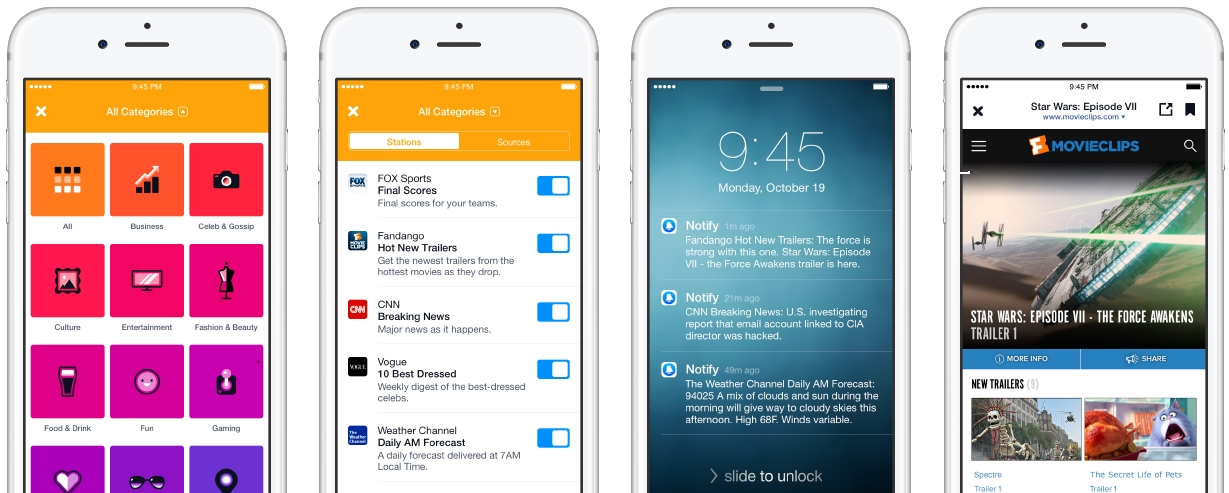 Facebook Launches Notify App for News Updates