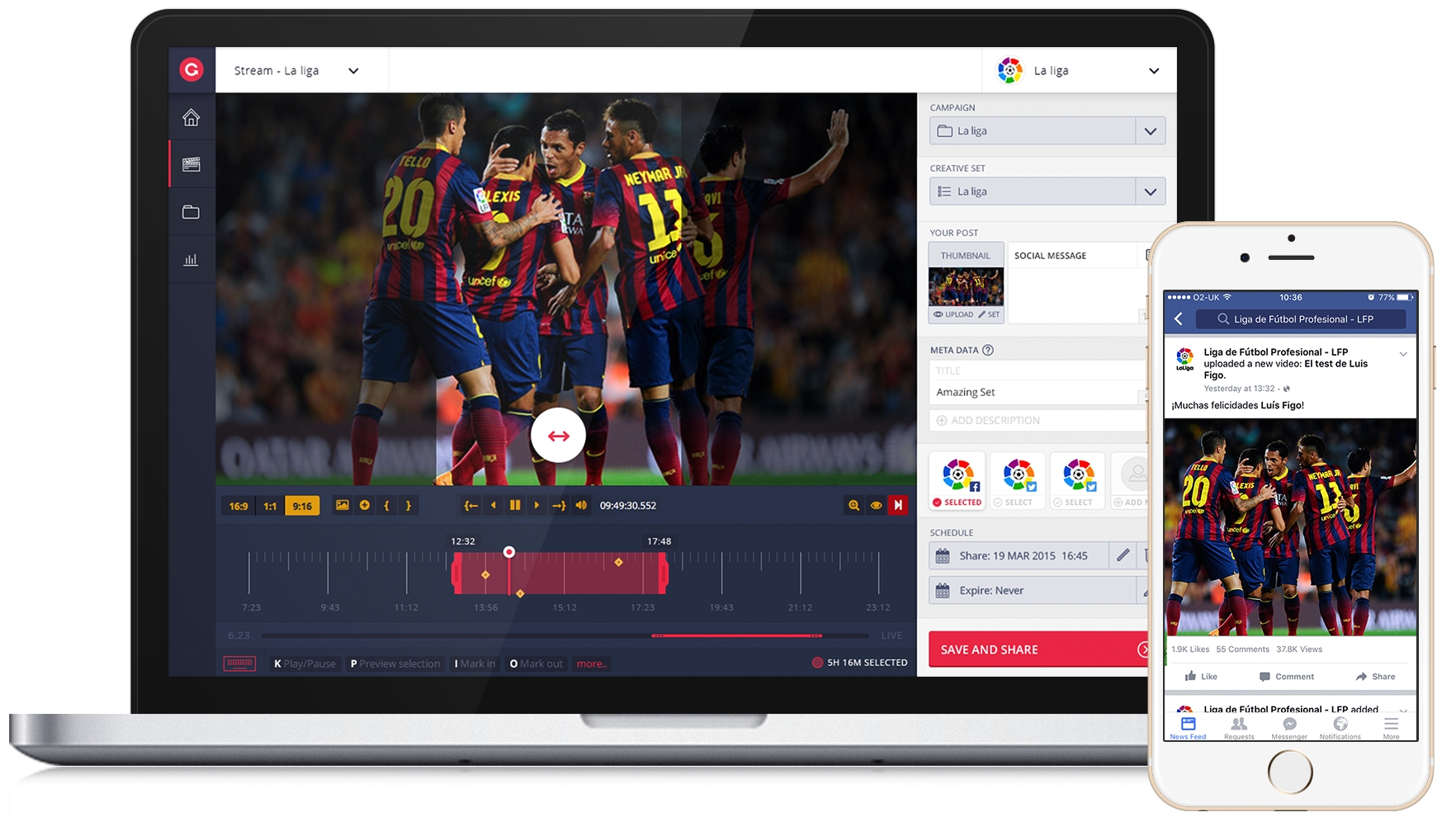 Grabyo Teams Up with La Liga for Exclusive Video Content