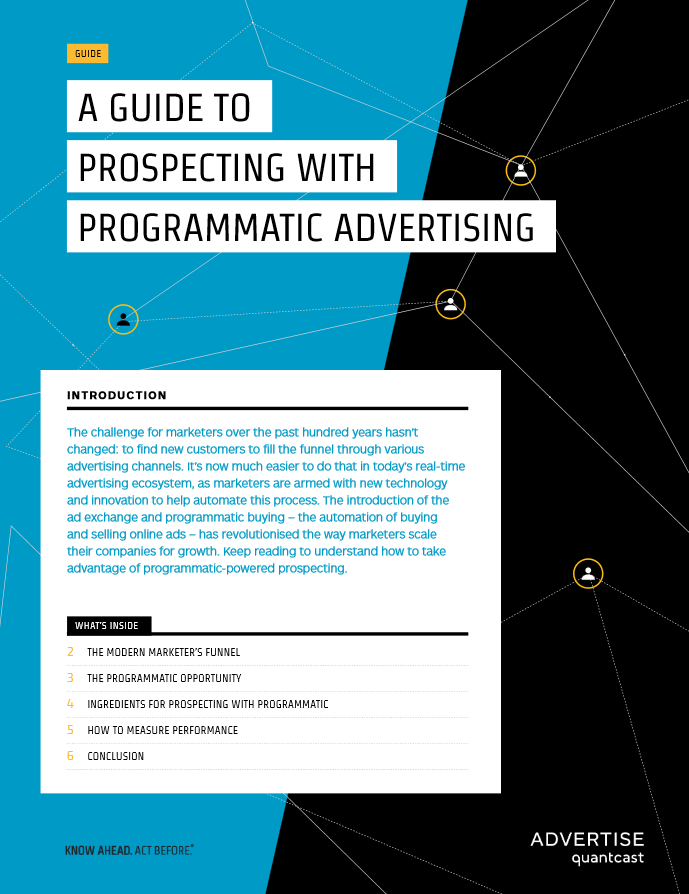 Take Advantage of Programmatic-powered Prospecting