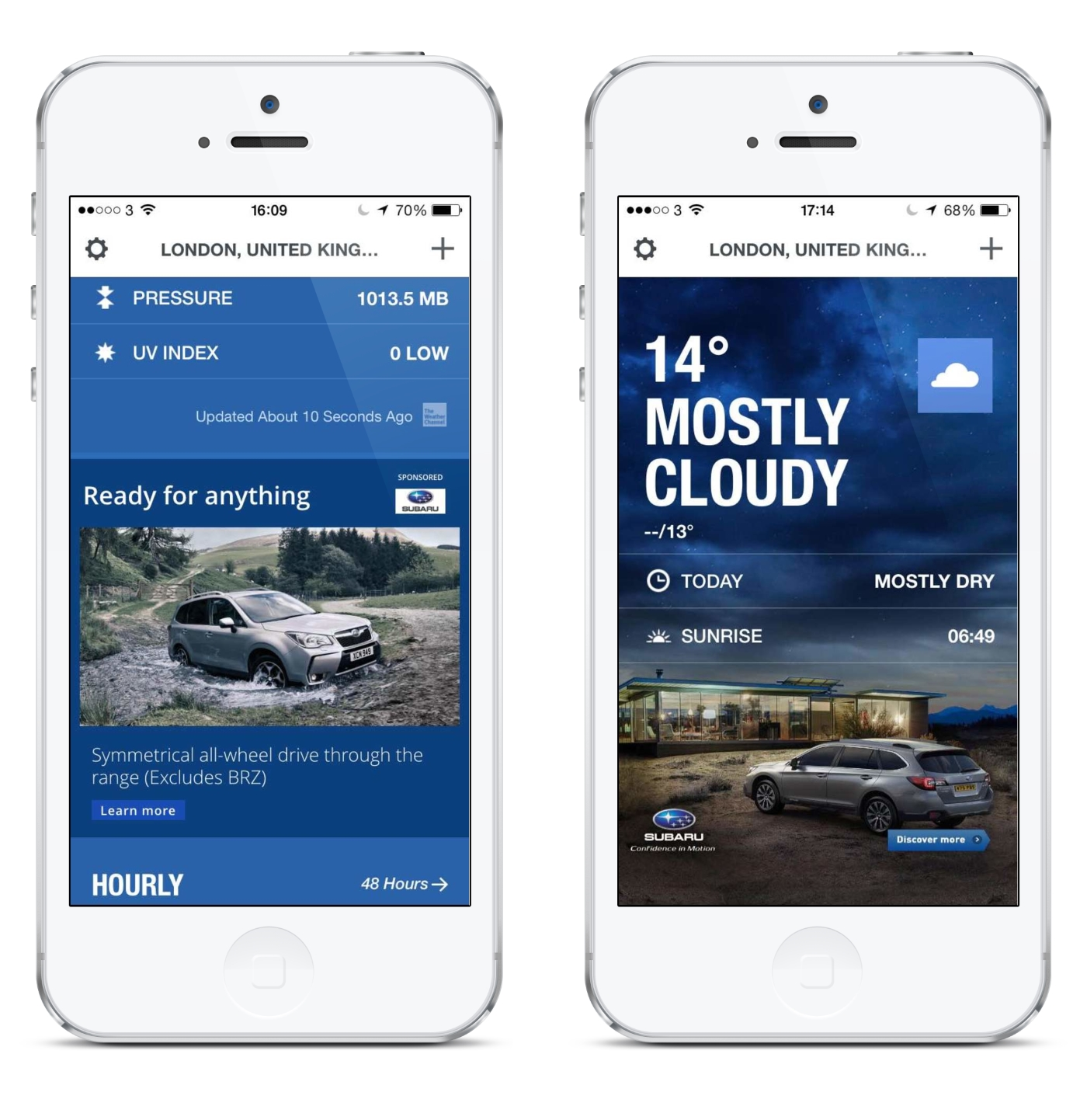 Subaru Teams with Weather Channel for Native Campaign