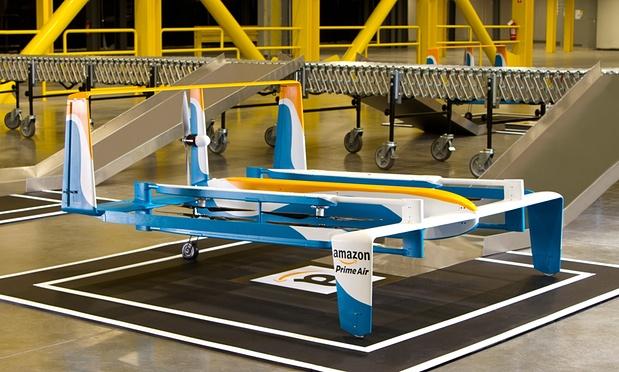 Amazon Unveils Hybrid Drone Prototype