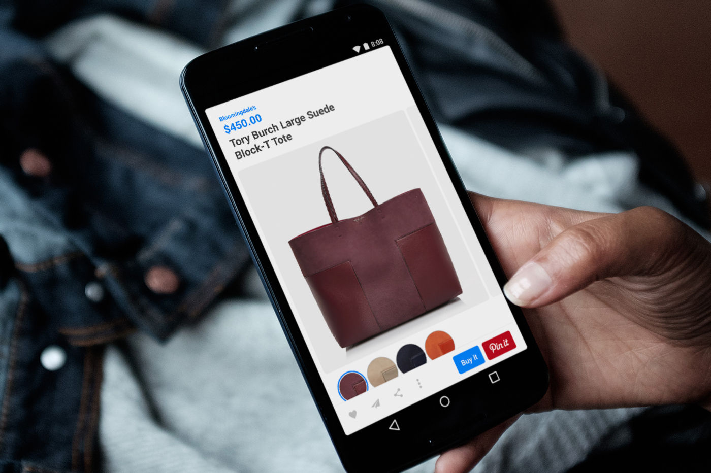 Pinterest Expands Buyable Pins to Android