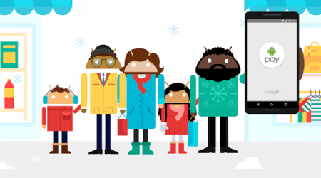 Google Promotes Android Pay with Holiday Charity Donations