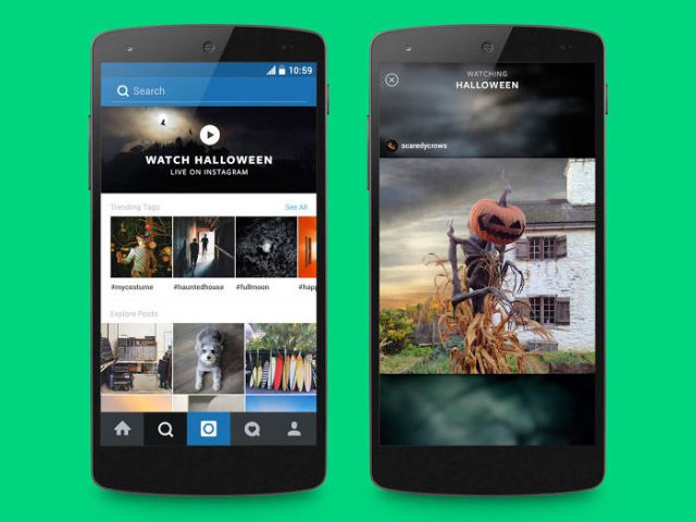 Instagram Launches Curated Event Feeds for Halloween