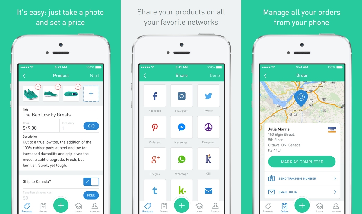 Shopify Launches Sello App to Create mCommerce Sites on your Phone