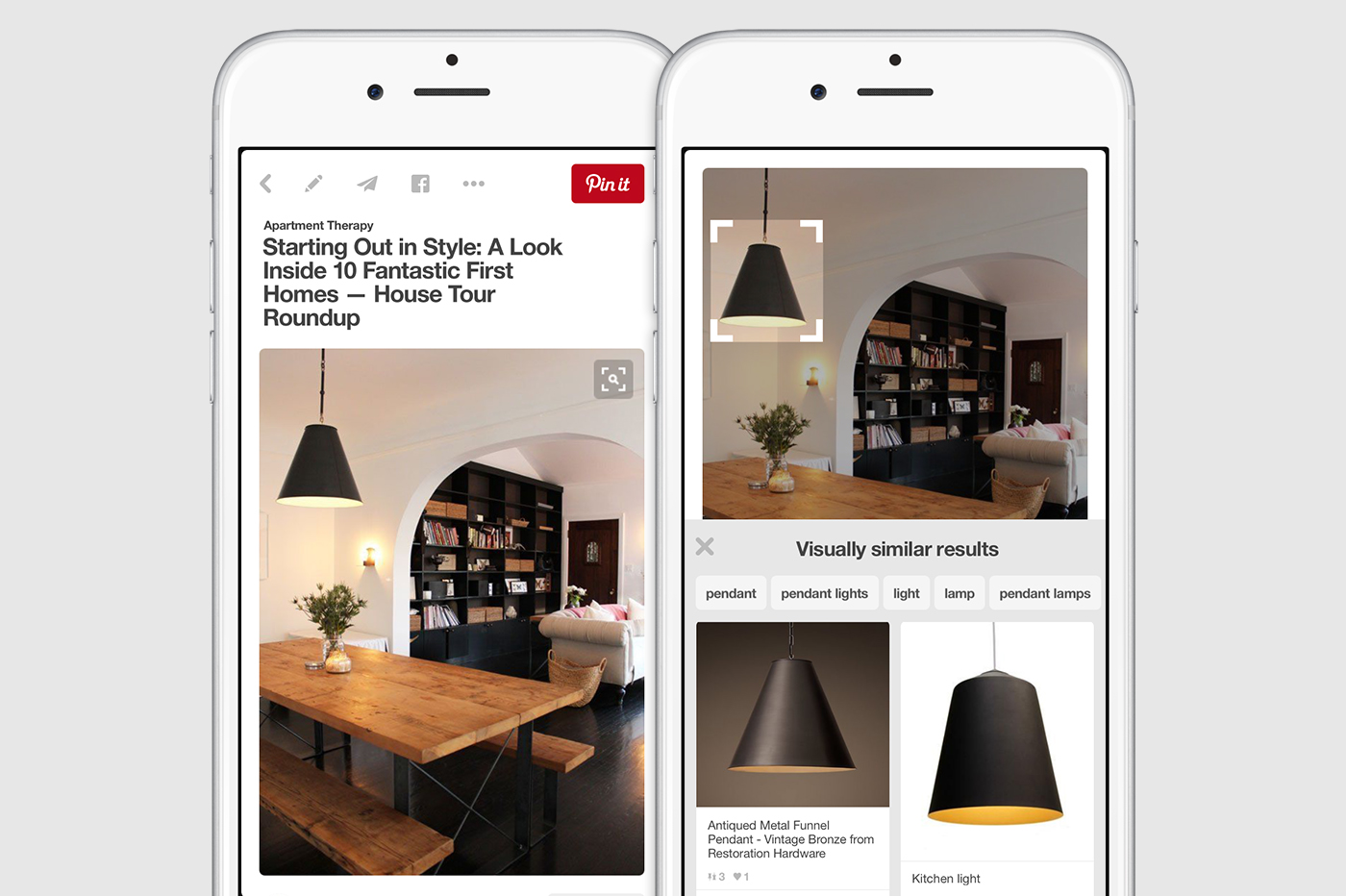 Pinterest Launches New Visual Search Tool