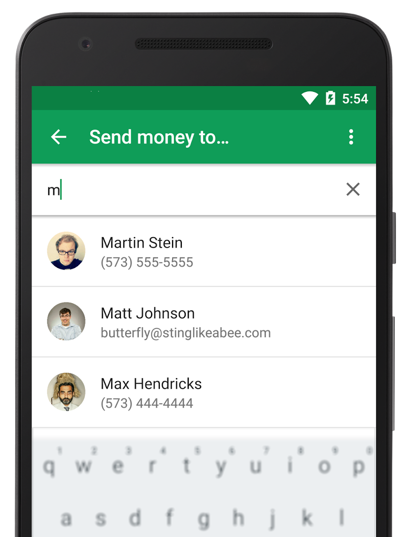 Google Wallet Adds P2P Money Transfer Using a Phone Number