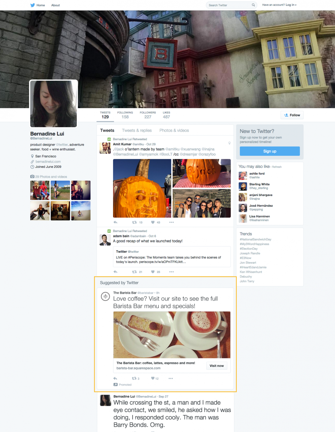 Twitter Targets Logged-out Users with Promoted Tweets