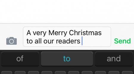 Merry Xmas text