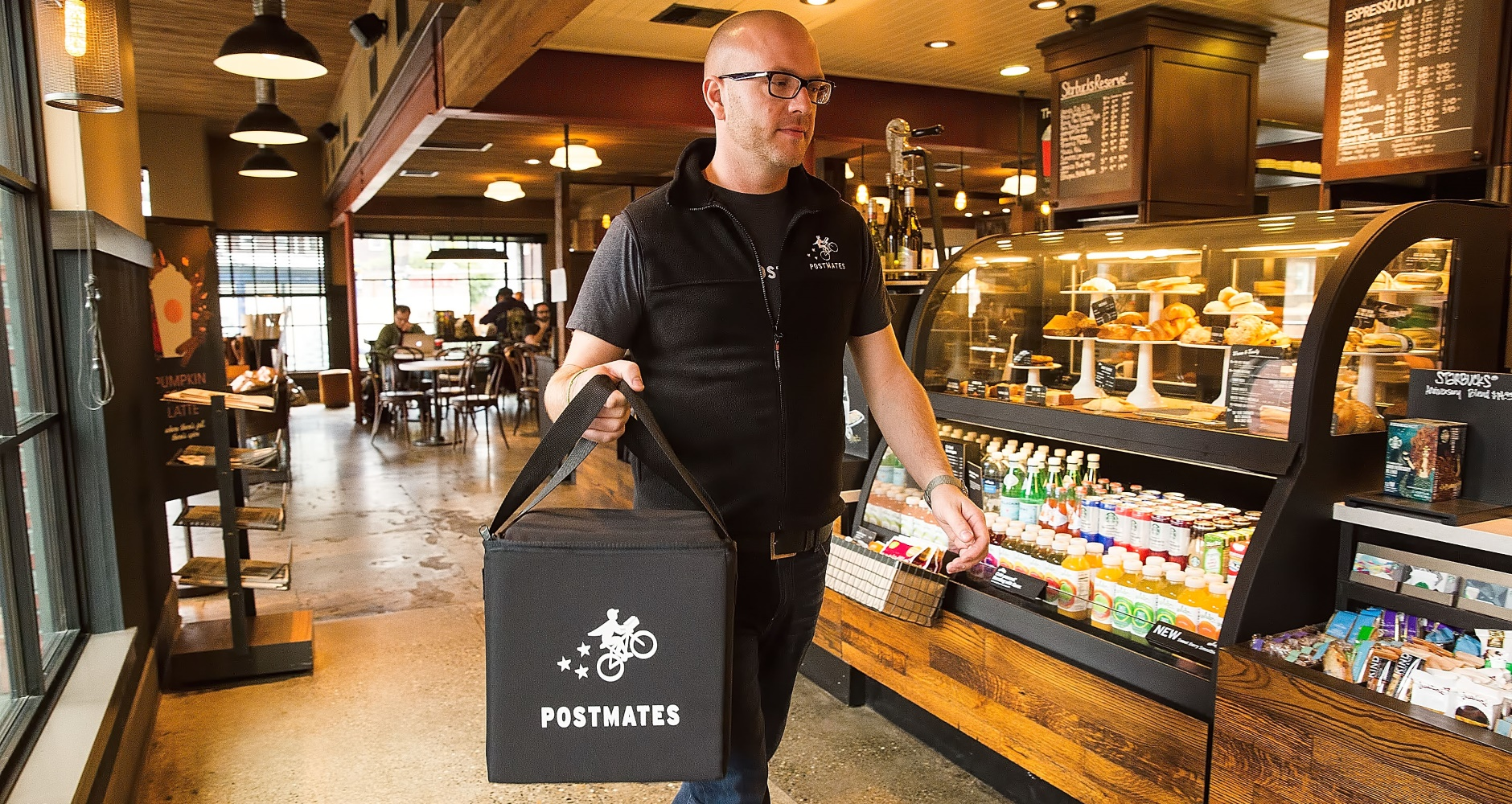 Starbucks Pilots Mobile Delivery with Postmates