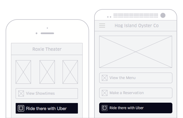 Uber Introduces 'Ride Request' Button for Third-party Apps
