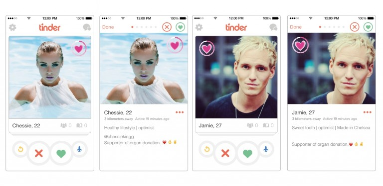 Hook up with tinder