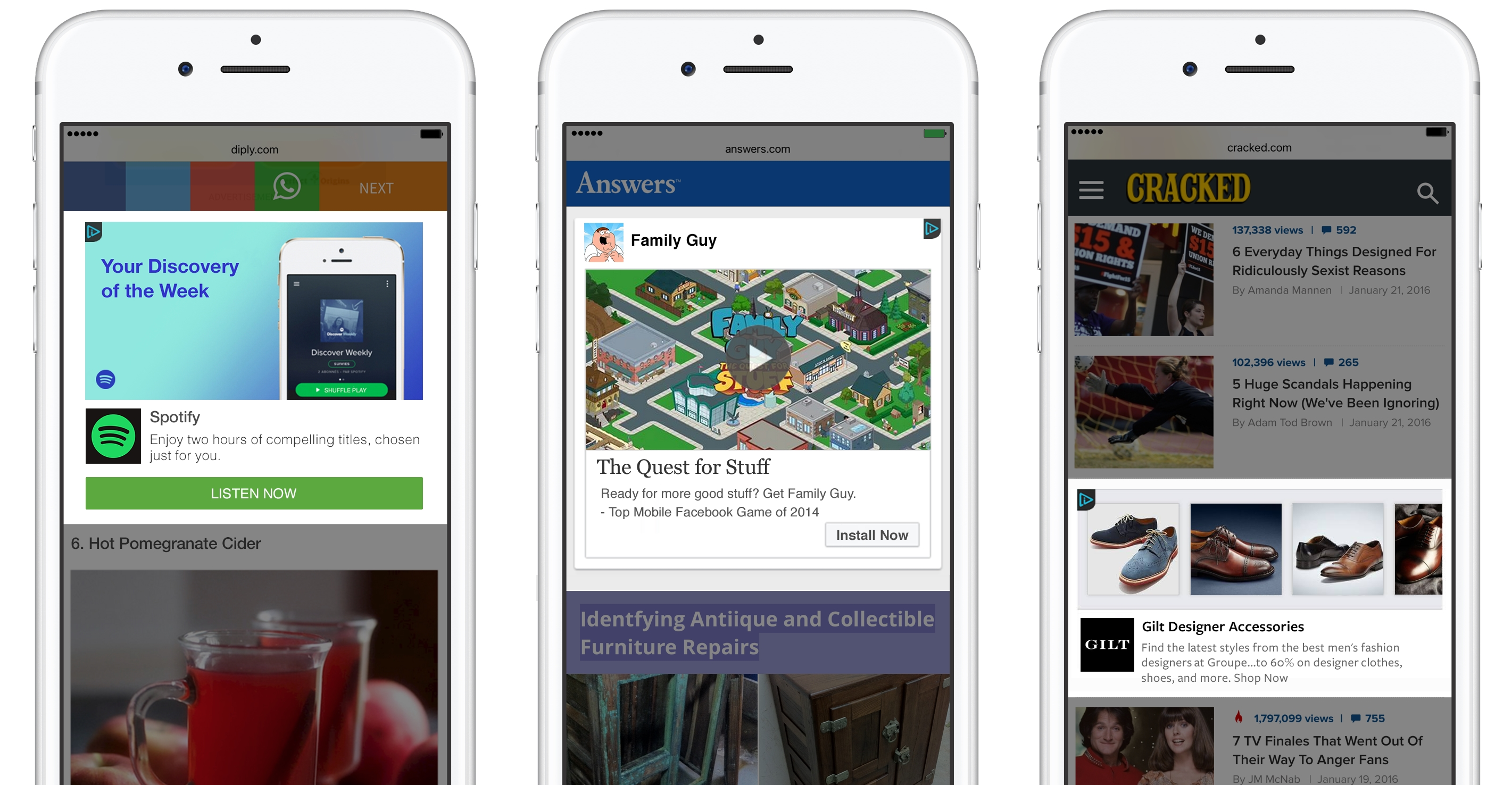 Facebook Extends Audience Network to the Mobile Web
