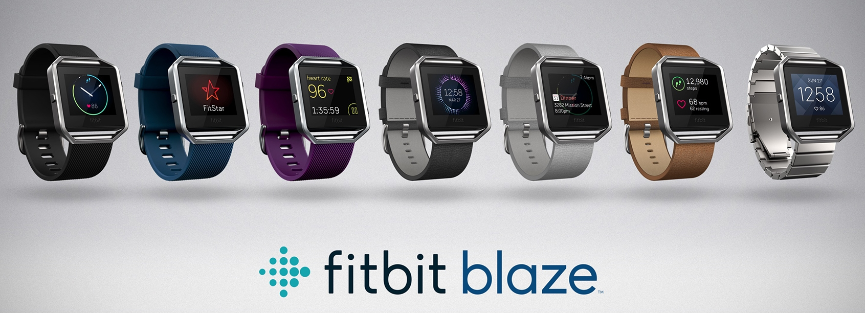 Fitbit Blazes Up with Smartwatch Launch