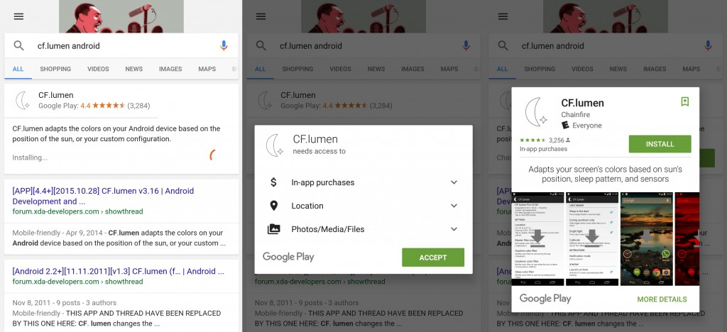 Google Adds Direct App Installs to Search | Mobile Marketing Magazine