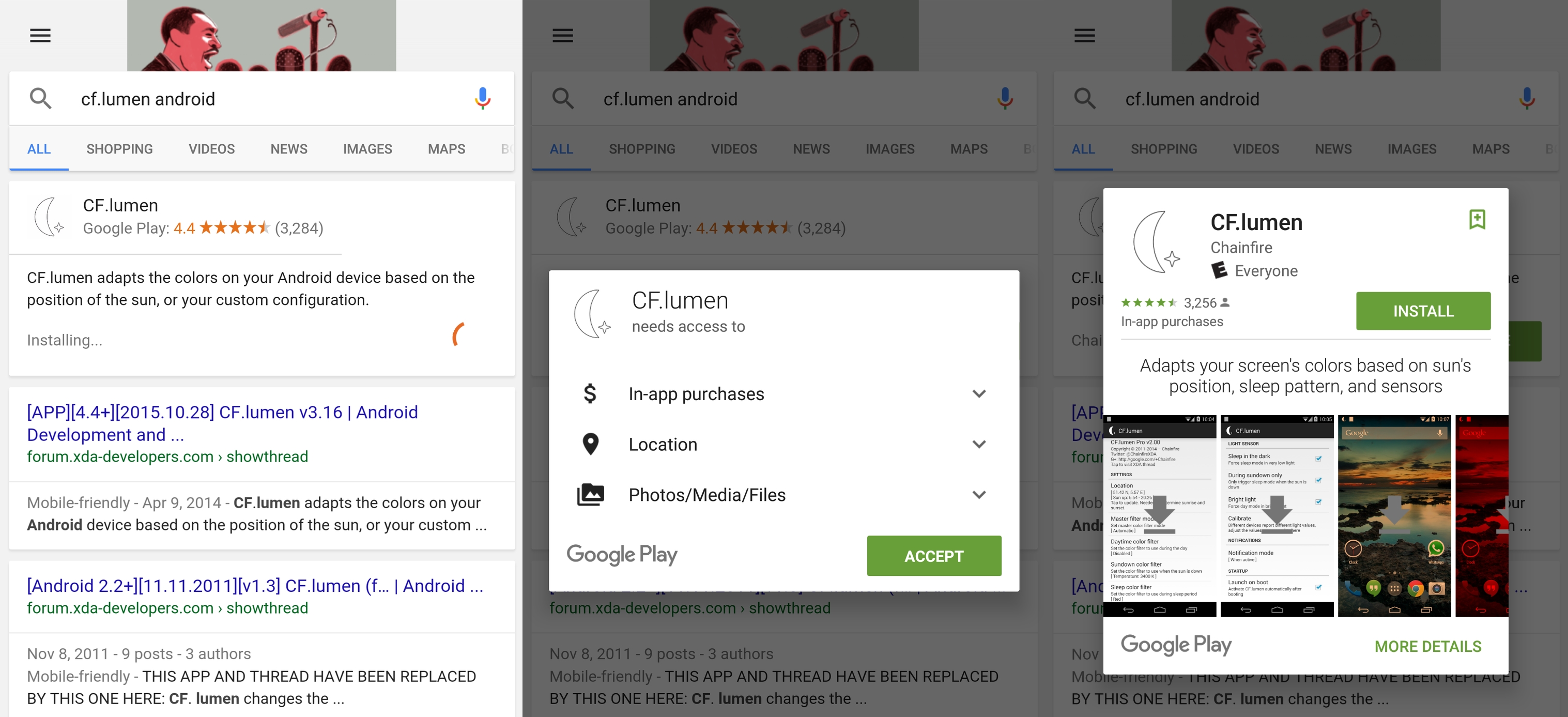 Google Adds Direct App Installs to Search