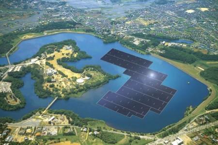 Kyocera-floating-solar-farm