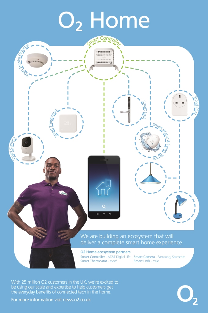 O2 to Bring AT&T's Smart Home Platform to UK Consumers