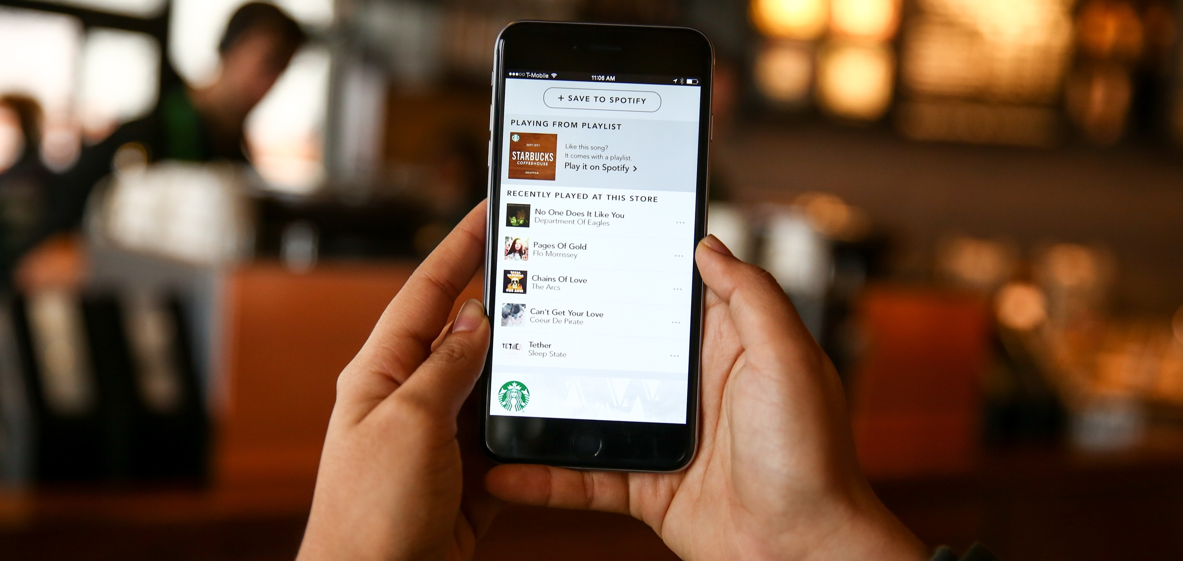 Starbucks Serves Up Music Discovery Features with Spotify