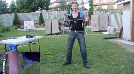 backyard exoskeleton