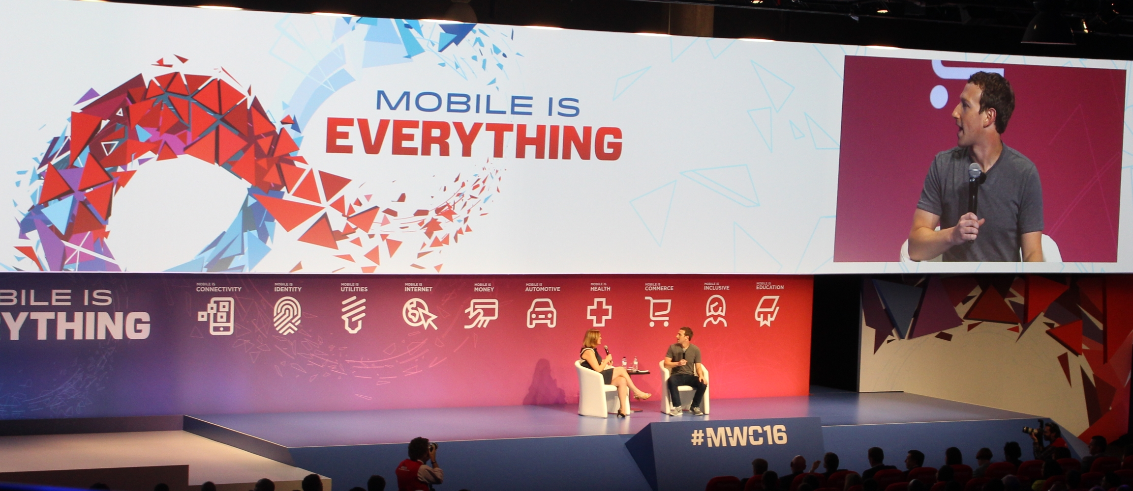 Zuckerberg at MWC: