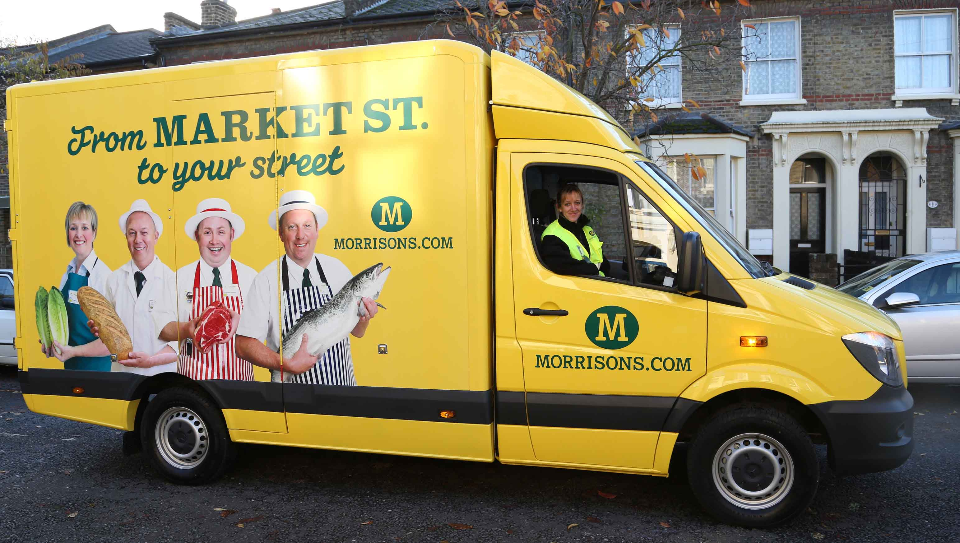 Amazon Signs Deal with Morrisons to Distribute Groceries