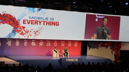 Zuck at MWC 2016