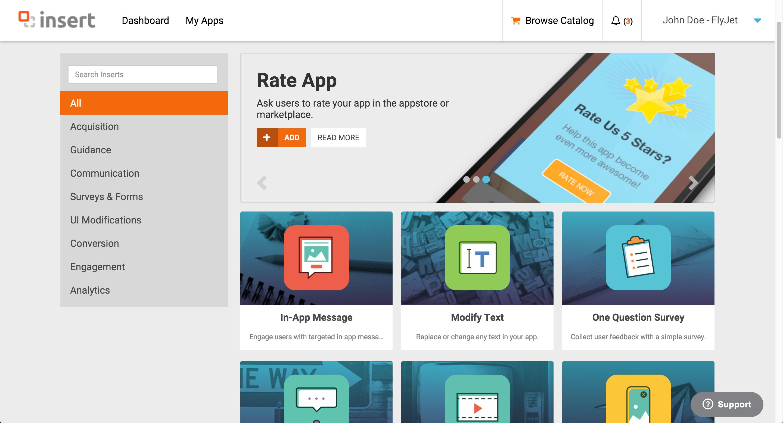 Insert Launches Codeless Mobile Engagement Platform