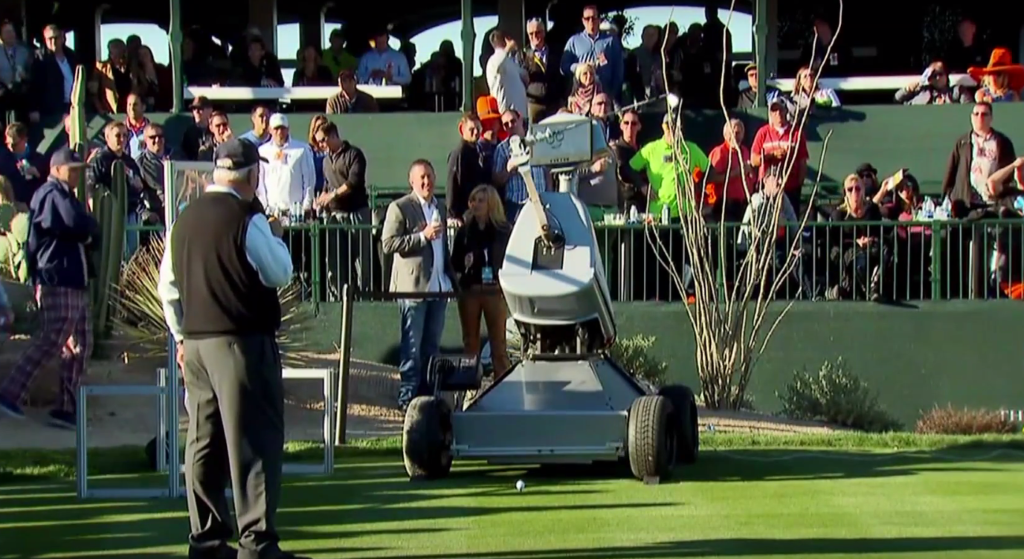 Innovation Lab: Robot Golfers, Super-old Mice and 3D Printing at the Super Bowl