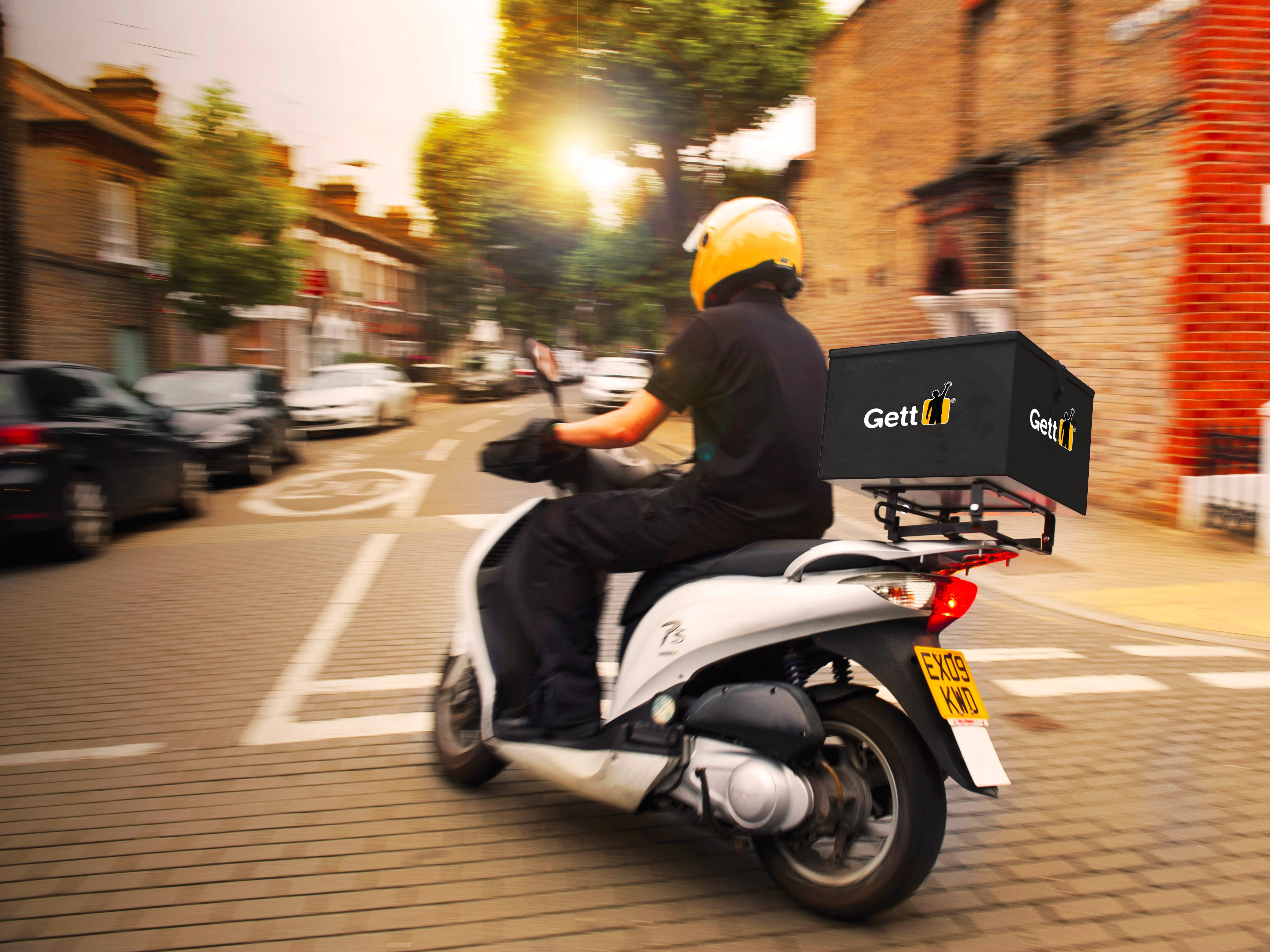Gett Taxi App Launches £6 Courier Service