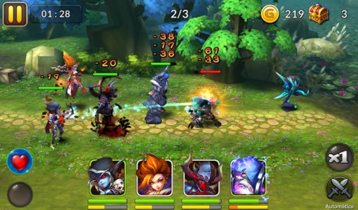 Heroes and Titans, one of Locojoy's popular games for the US and European market