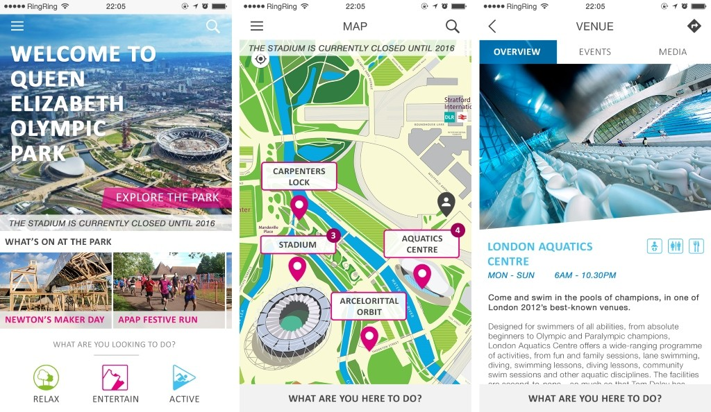 Sports Revolution Releases Olympic Park App