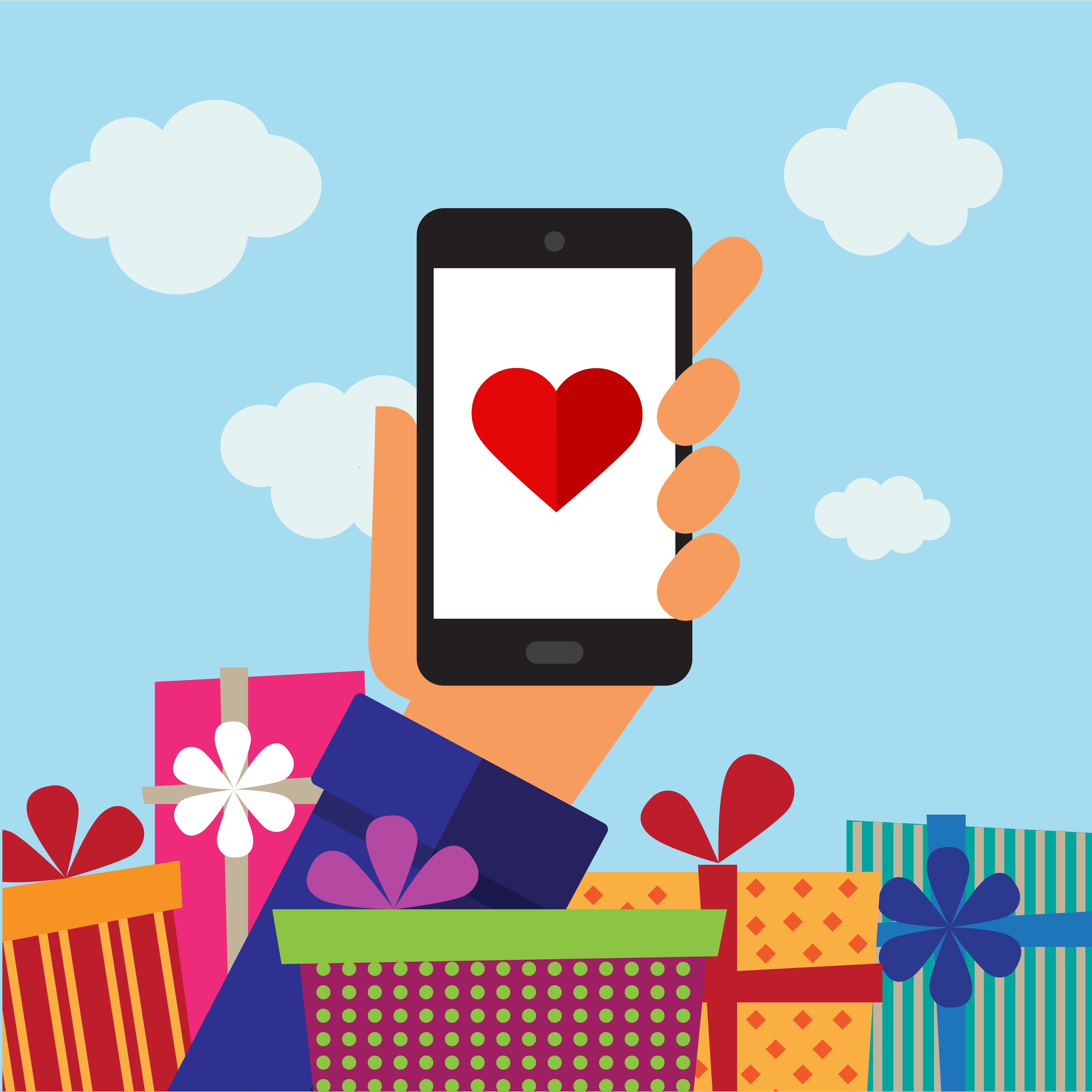 70 Per Cent of Valentine's Day Retail Searches Made on Mobile