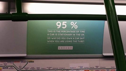 ubeeqo tube campaign