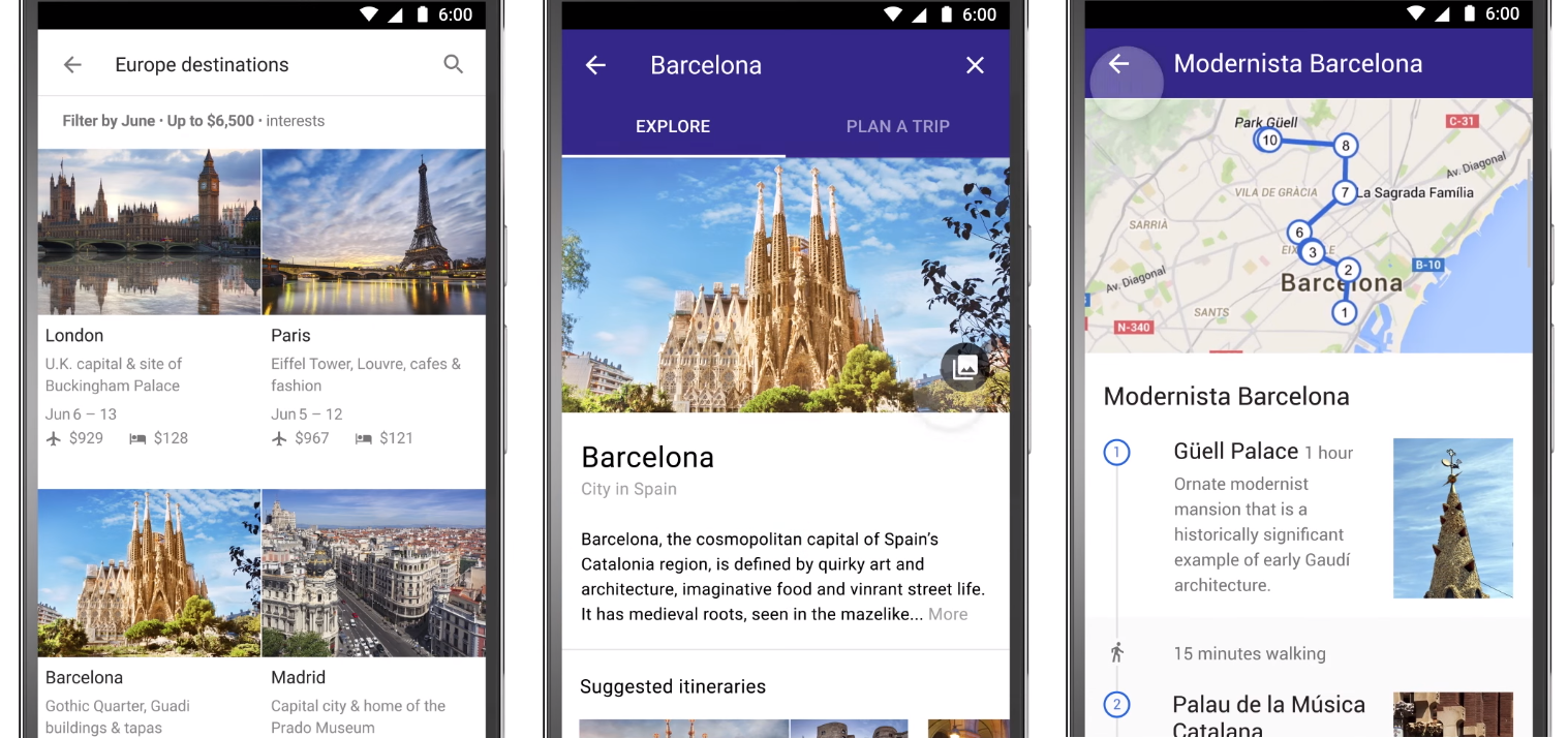 Google Makes Mobile Search the Destination for Holiday Planning