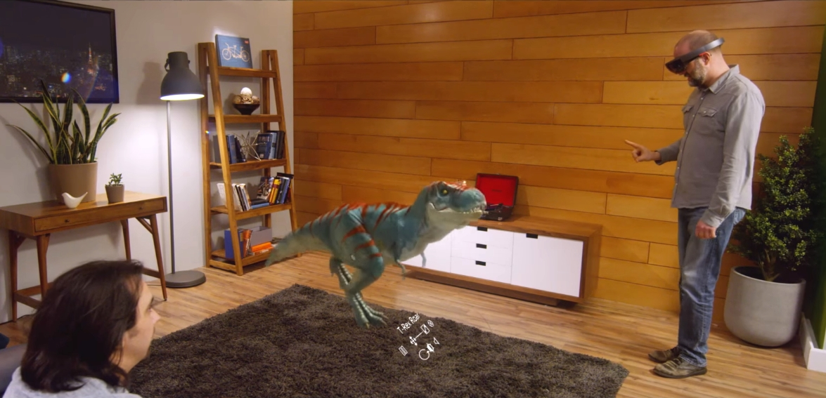 Microsoft Gives a Taste of HoloLens Possibilities with Actiongram