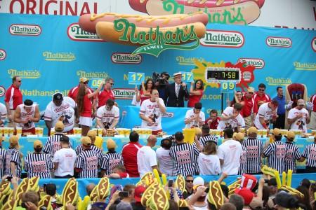 Nathans Hot Dog Eating Contest