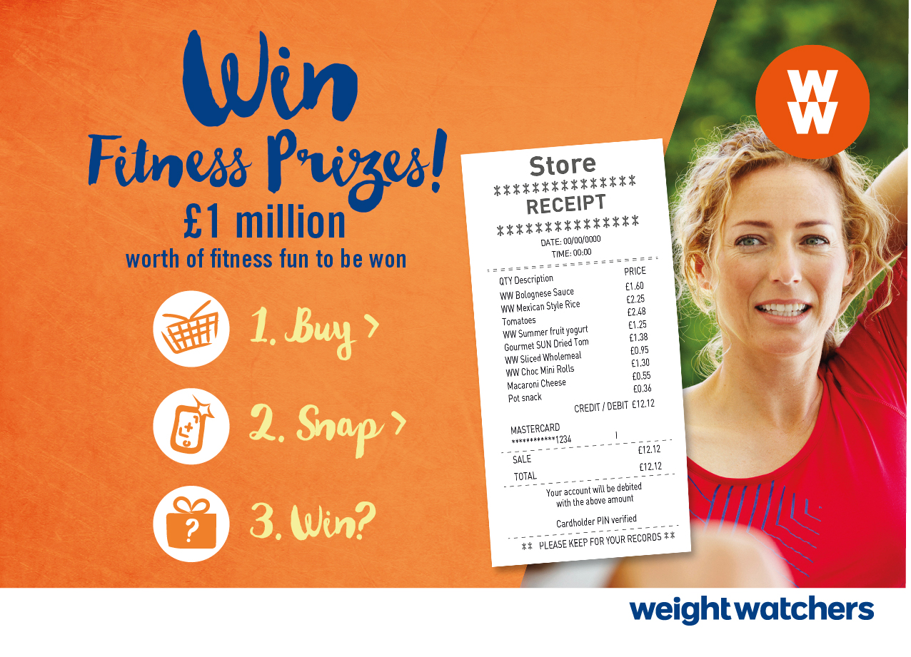 Weight Watchers Turns to Mobile Redemption for £1m Prize Giveaway Campaign