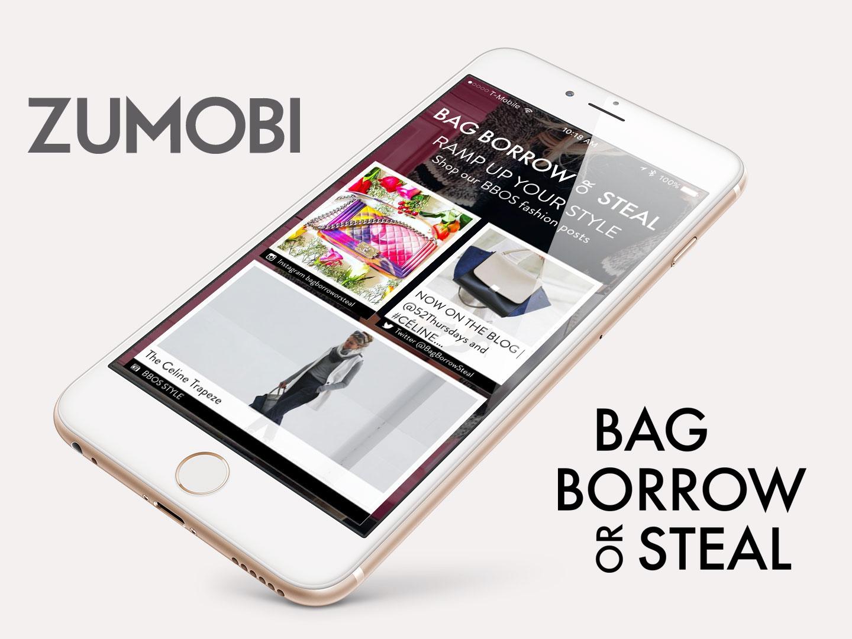 Zumobi Creates Mobile Microzines for Shoppable Retail Experience