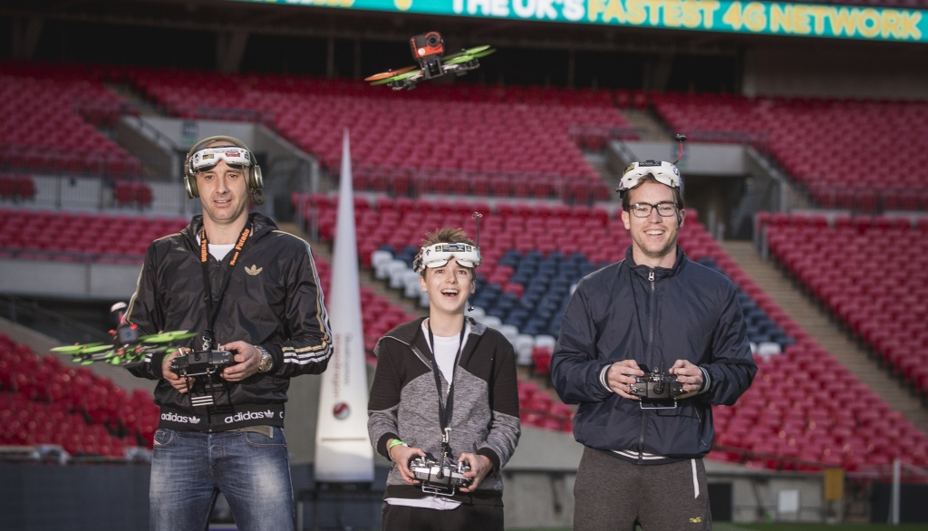Innovation Lab: Drone Racing, Quantum Gaming and Virtual Westeros