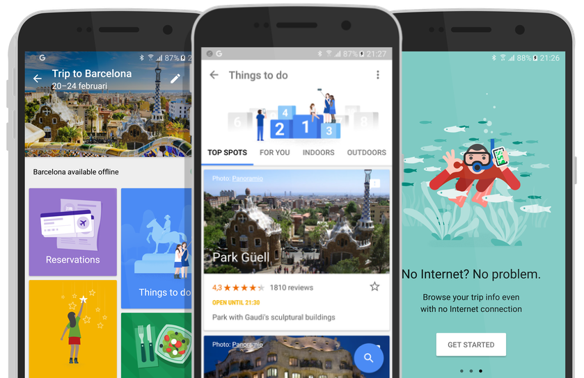 Google Trials Trips Tourism App with Trusted Travellers