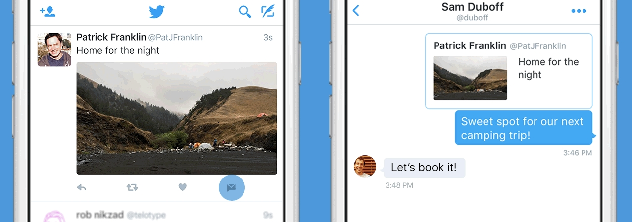 Twitter Adds Send Button to Share Tweets Privately