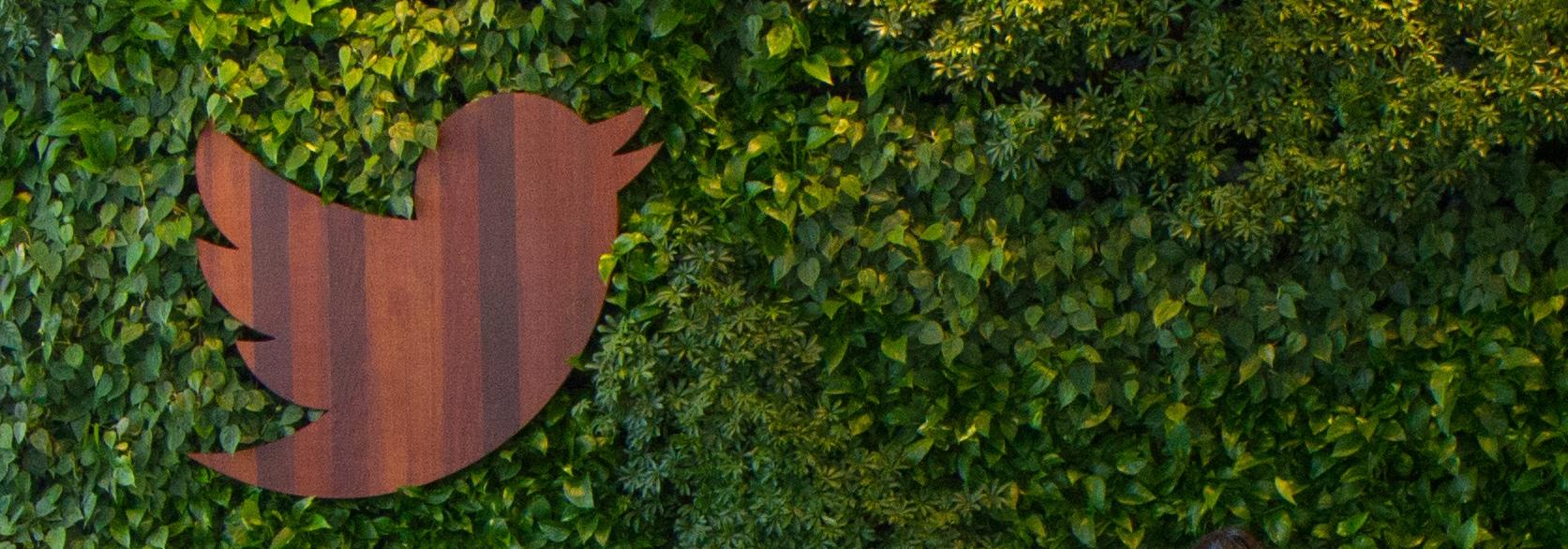 Twitter logo IRL HQ