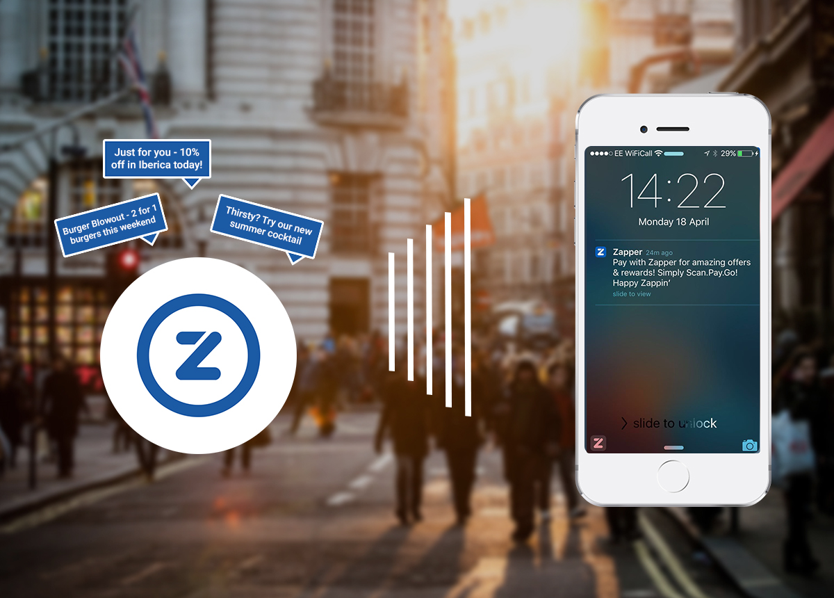 Zapper Launches Beacon Technology for Restaurants