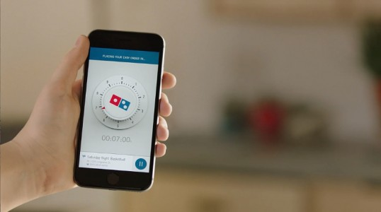 Domino's Launches 'Zero Click' Pizza Ordering