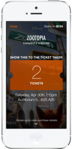 Fandango Rolls Out Mobile Ticketing to Five Cinema Chains